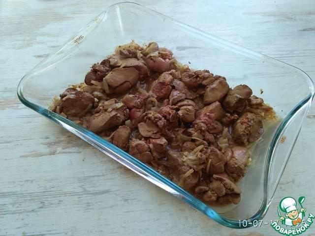 Вкусная куриная печень - 6 пошаговых фото в рецепте