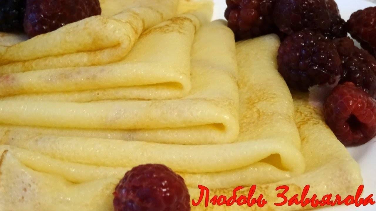 Французские блинчики (crêpes / galettes) - традиционная кухня франции