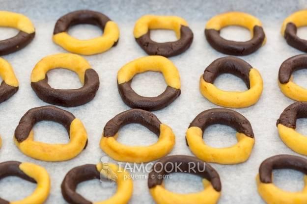 Американское печенье с кусочками шоколада