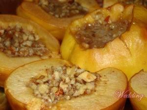 Запеченная айва с медом – полезное и вкусное лакомство