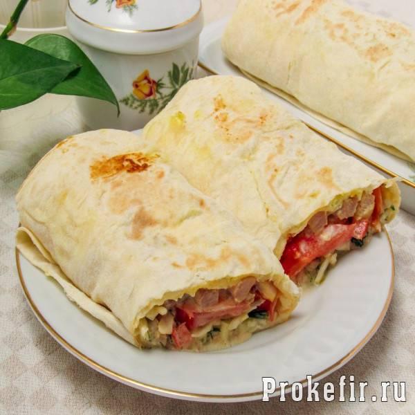 Домашняя шаурма: пошаговые рецепты с фото для легкого приготовления