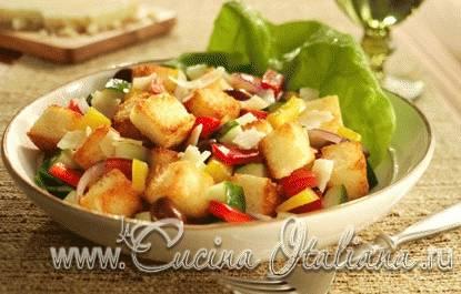 Салат хлебный