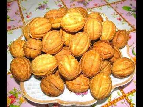 Орешки в орешнице: 10 домашних вкусных рецептов