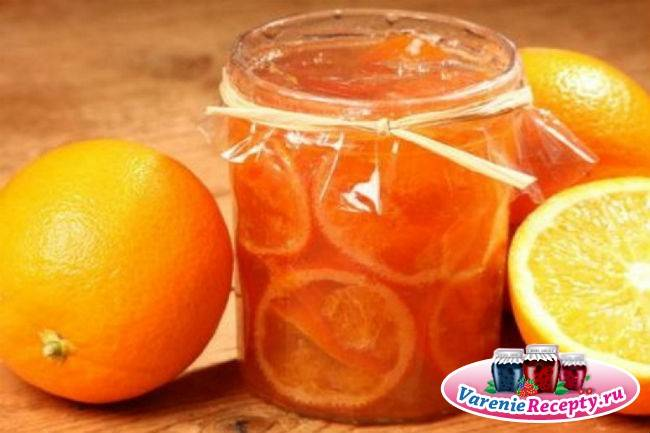 Популярные рецепты с фото варенья из апельсинов