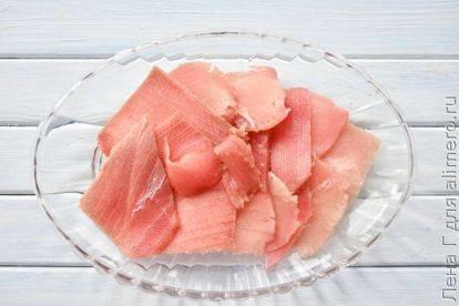 Севиче перуанский (peruvian ceviche)  очень вкусная, свежая закуска из сырой рыбы