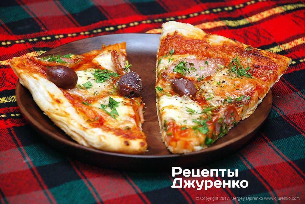 Кабачковая пицца из кабачков в духовке