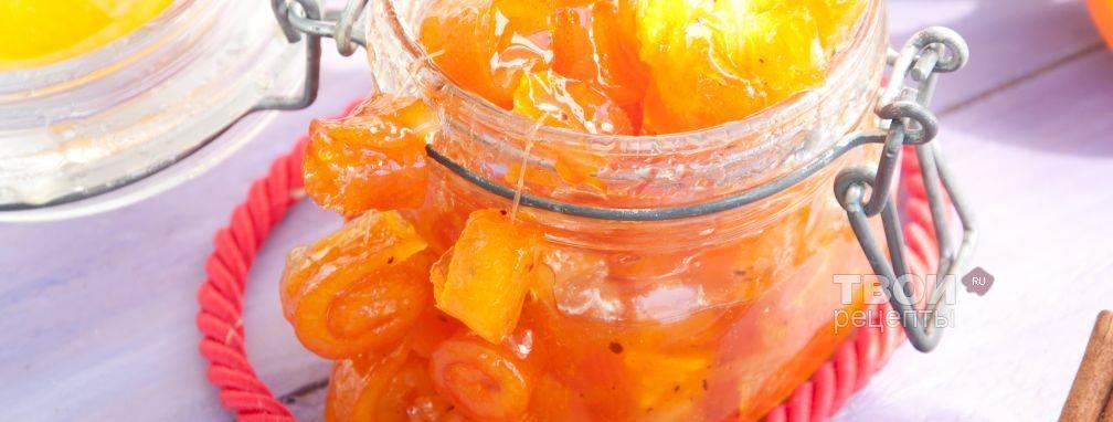 Апельсиновое варенье с бренди «пионерская зорька»