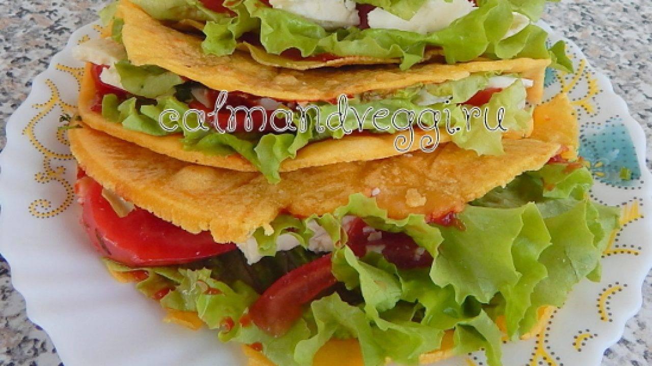 Рецепты мексиканского тако и лепёшки