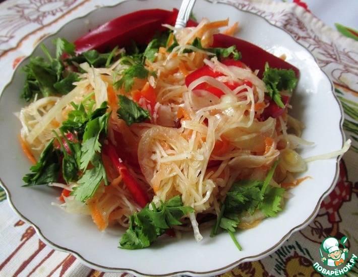 Заправка для салата из свежей капусты