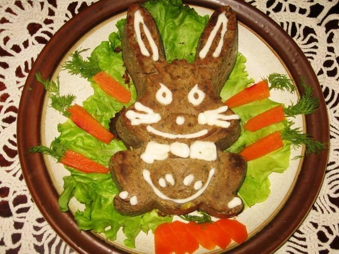 Паштет из зайца по царски. паштет из зайца