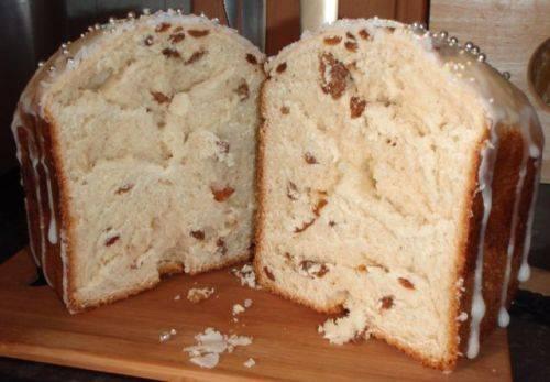 Пасхальный кулич в хлебопечке - 6 пошаговых фото в рецепте