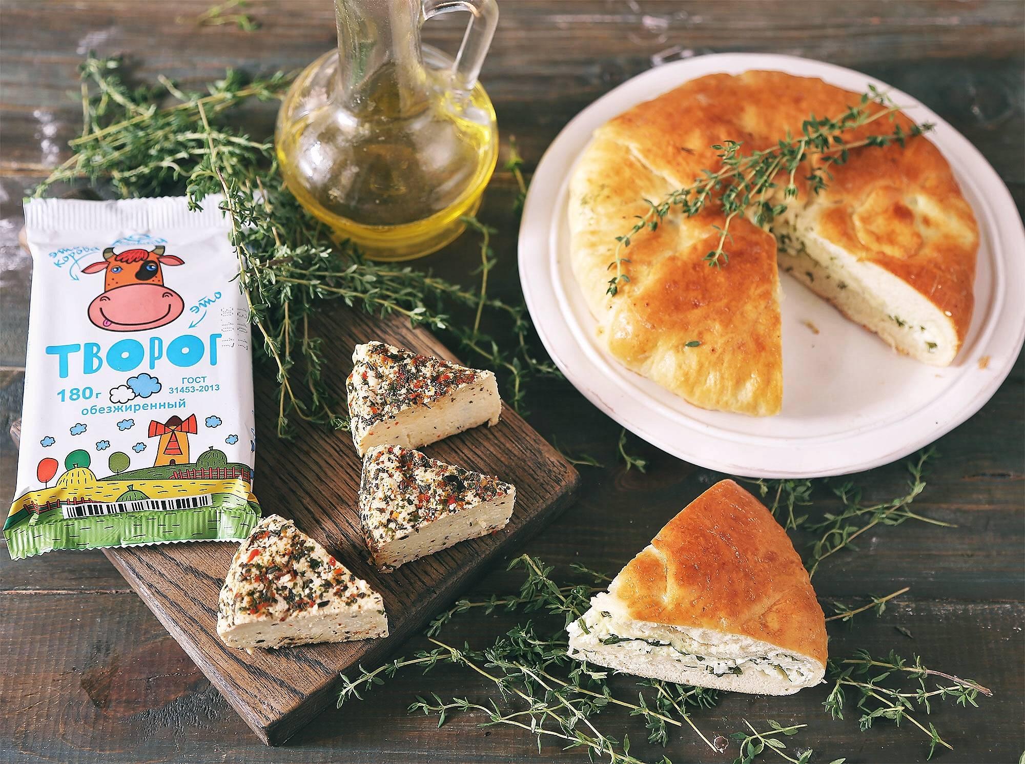 Осетинский пирог с сыром пошаговый фото рецепт