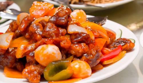 Куриное филе в кисло-сладком соусе - 6 пошаговых фото в рецепте