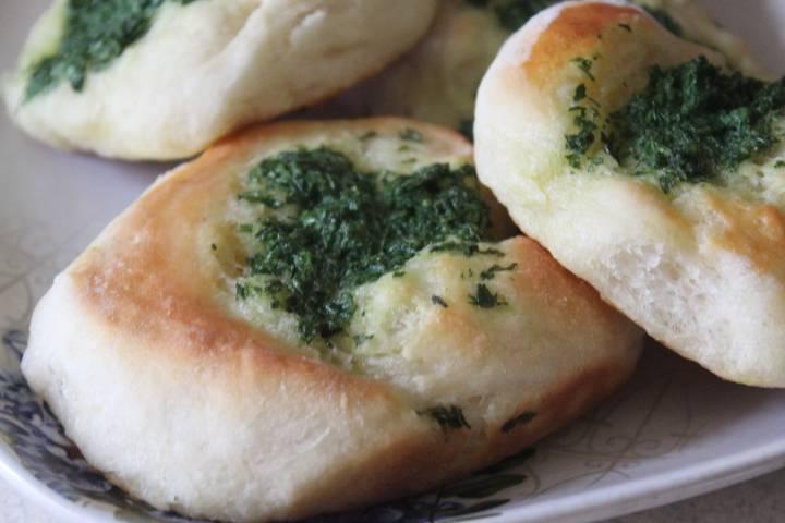 """Хлеб """"булочки луковые"""""""