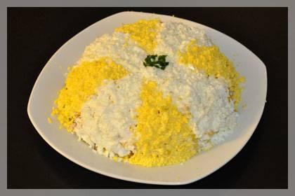 Салат с курицей, грибами и кукурузой: рецепт с фото - onwomen.ru