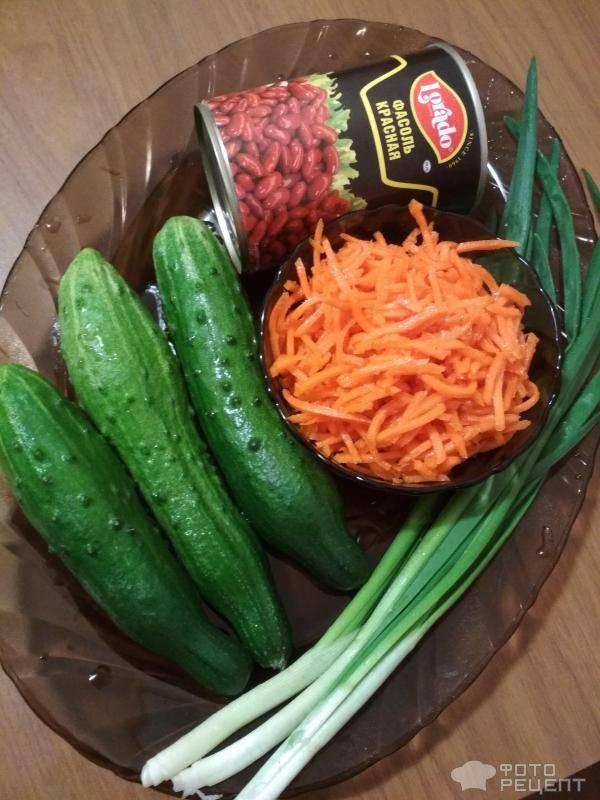 12 салатов с корейской морковью