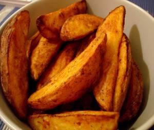 Картошка дольками в духовке на пергаменте — вкусные рецепты