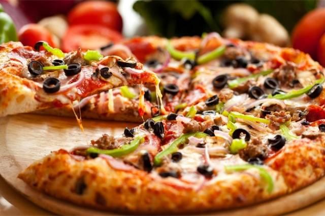 Пицца минутка в духовке! невозможно остановиться!