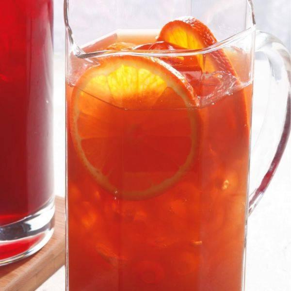 Холодный чай с апельсином - освежающий напиток для жарких дней