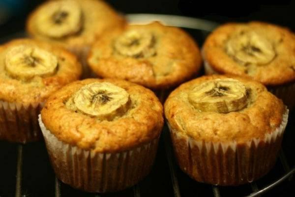 Готовим банановые маффины к чаю — 7 рецептов с фото