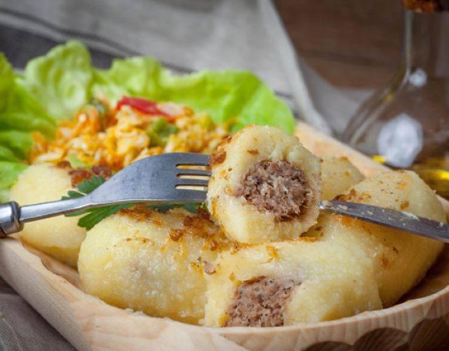 Картофельные клёцки по-польски