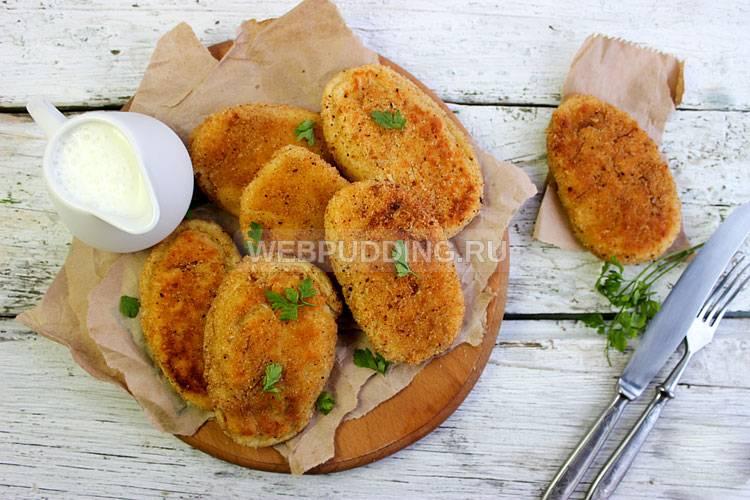 Зразы мясные с картофелем рецепт с фото