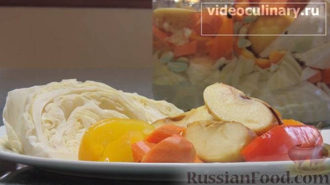 Капуста маринованная быстрого приготовления - 5 вкусных и простых рецептов с фото пошагово