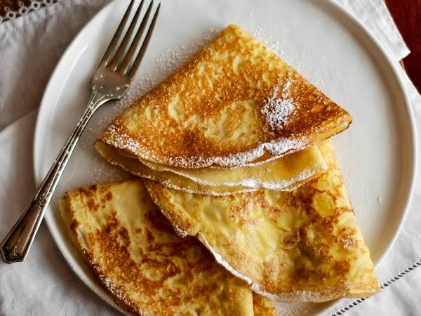 Французские блинчики: рецепт с фото, сладкие и тонкие