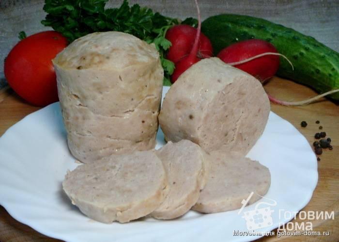 Колбаса в кружке домашняя вареная, рецепт с фото