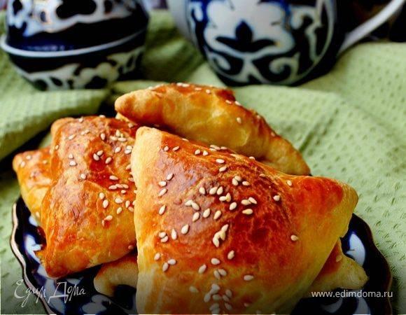 Самса из слоеного теста - самые простые рецепты вкусной узбекской выпечки