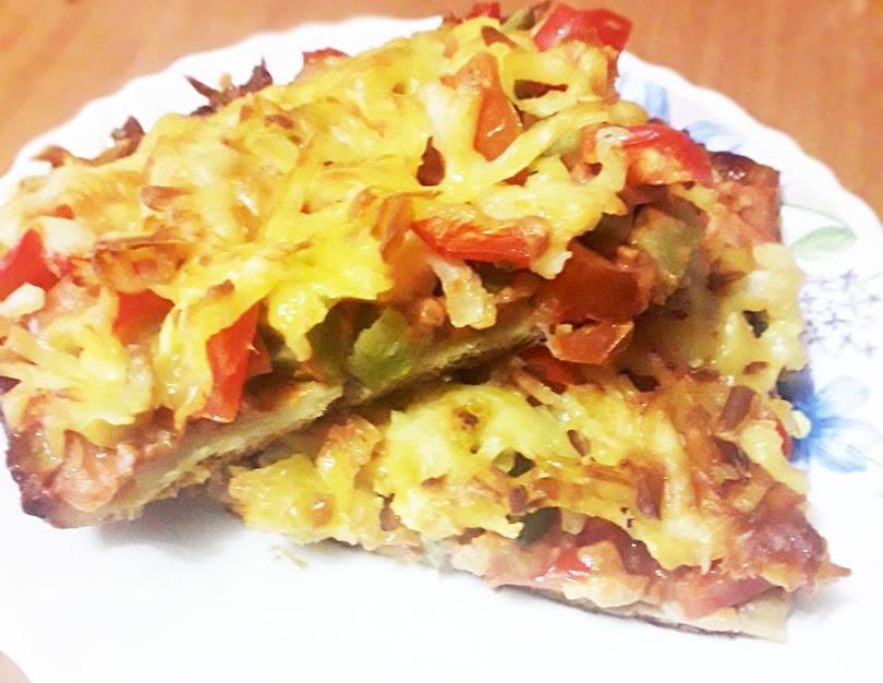 Домашняя мини-пицца из кабачков за 30 минут
