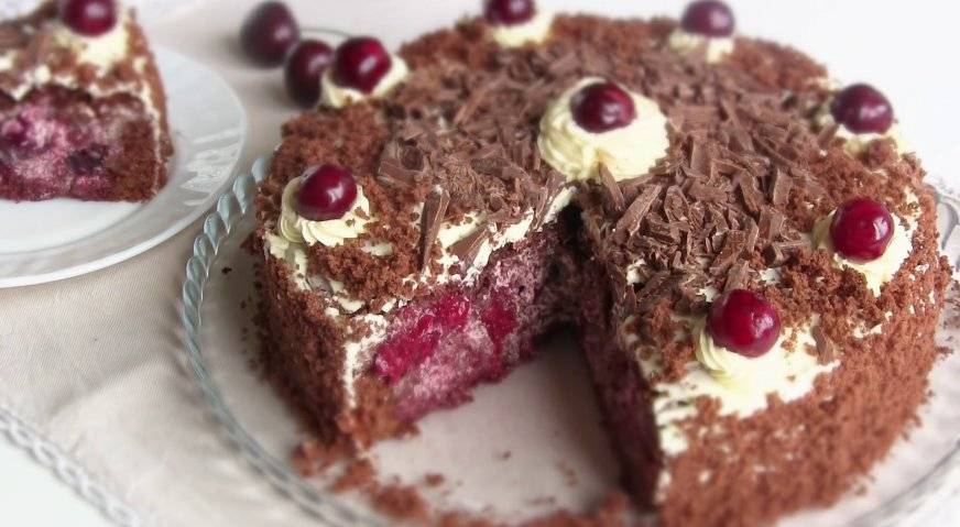 """Летний пирог """"вишневый восторг"""""""