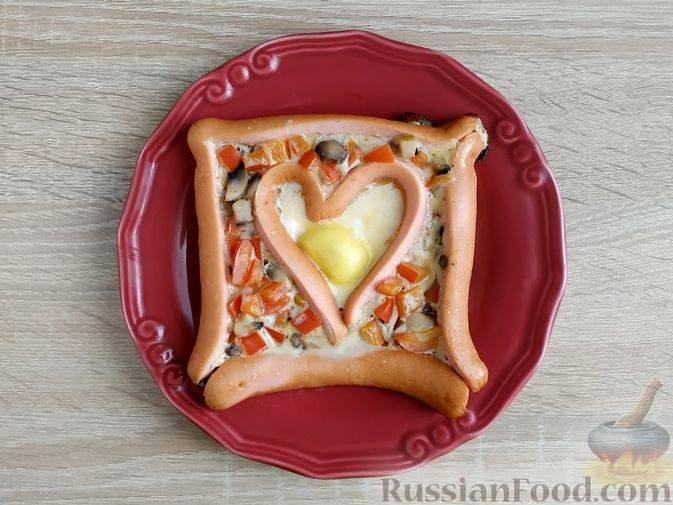 Пицца на батоне в духовке