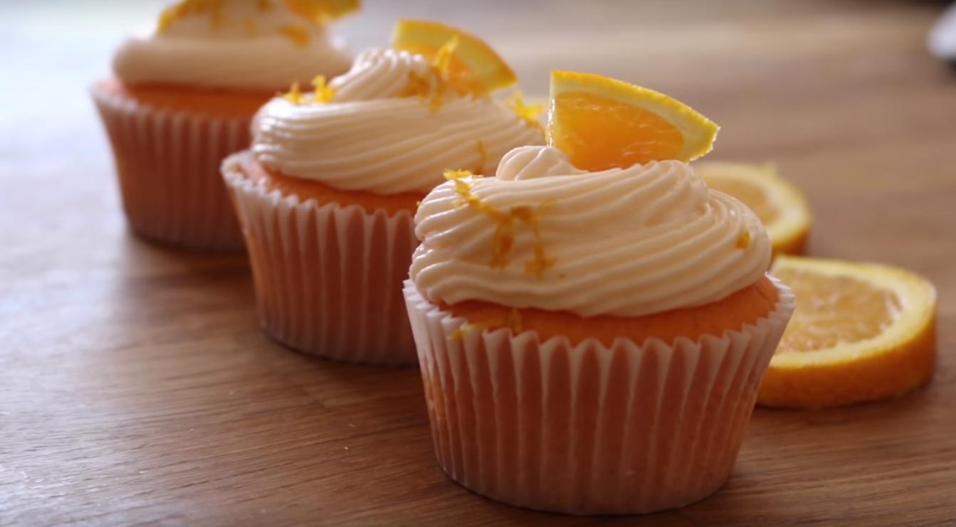 Маффины апельсиновые