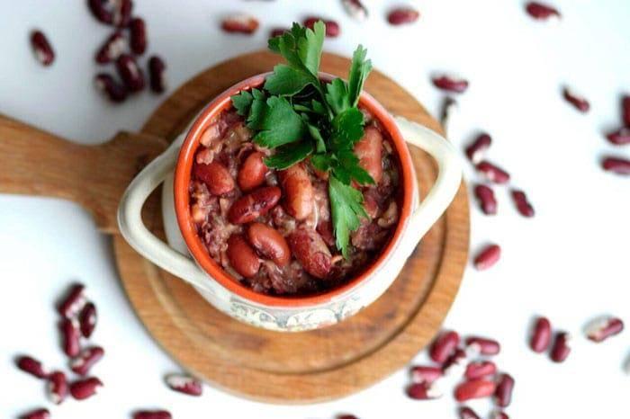 Лобио из красной фасоли: классический рецепт с фото пошагово