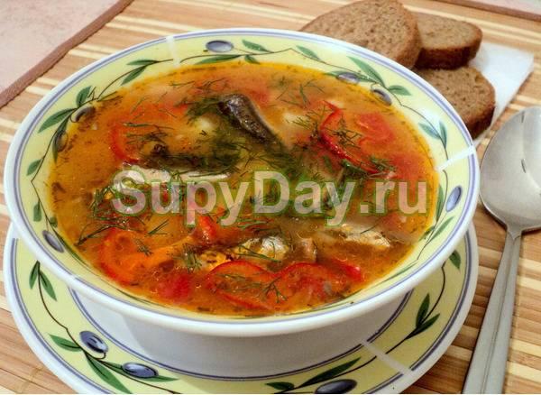 Суп с килькой как в советское время. пошаговый рецепт приготовления рыбного супа из кильки в томатном соусе
