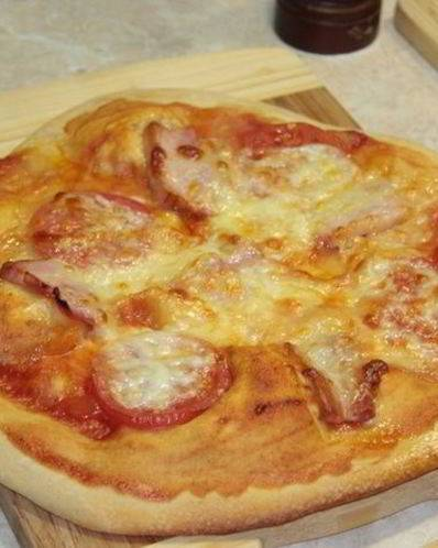 Пицца на тонком тесте как в пиццерии в домашних условиях