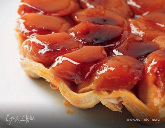 Французский яблочный пирог Тарт татэн