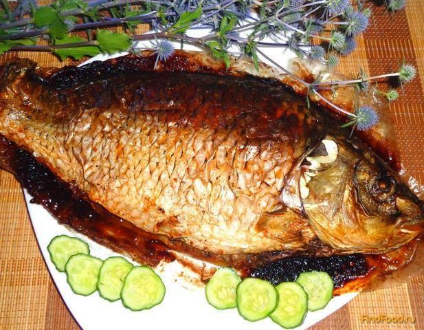 Фаршированный карп — восхитительная рыба к празднику. пошаговый рецепт с фото