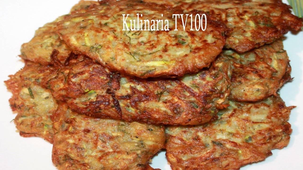 Драники из кабачков - кулинарные рецепты