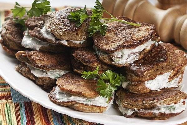 Печеночные оладьи с рисом, морковью - вкусные рецепты из свиной, говяжьей и куриной печени