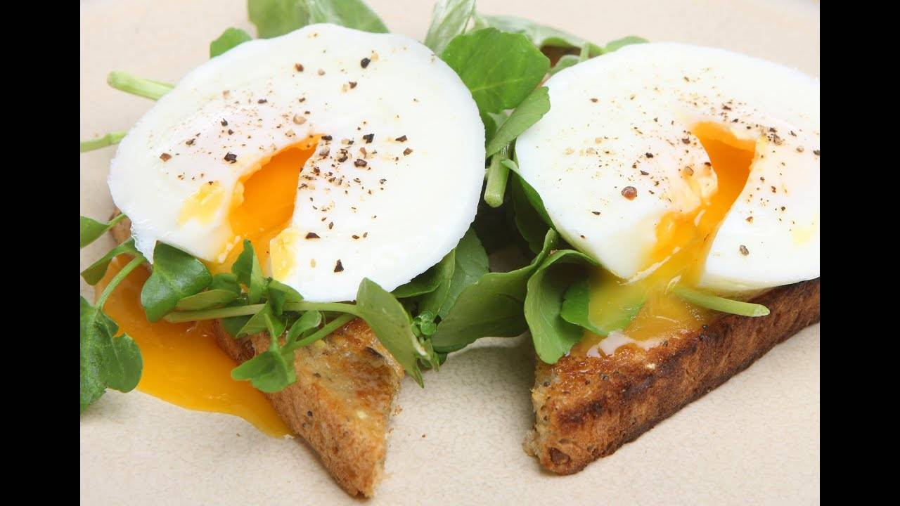 Яйцо пашот - французский завтрак