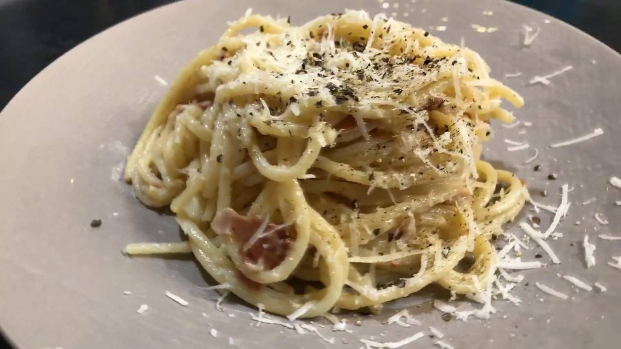 Спагетти карбонара, классический рецепт