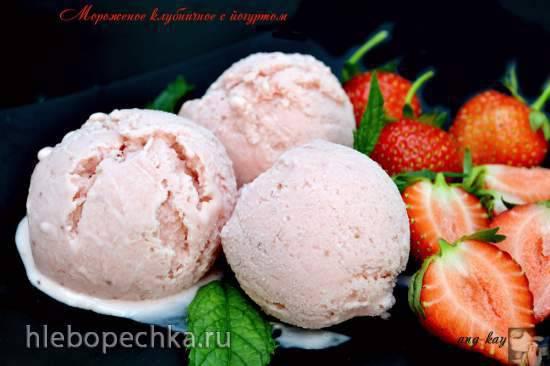 Рецепт мороженого с клубникой - 9 пошаговых фото в рецепте
