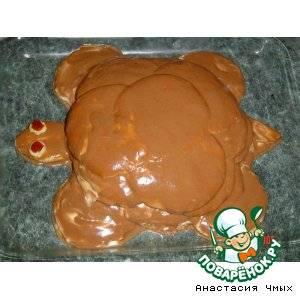 Торт «черепаха» классический