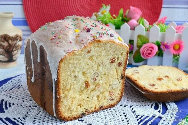 Рецепты пасхального кулича в хлебопечке