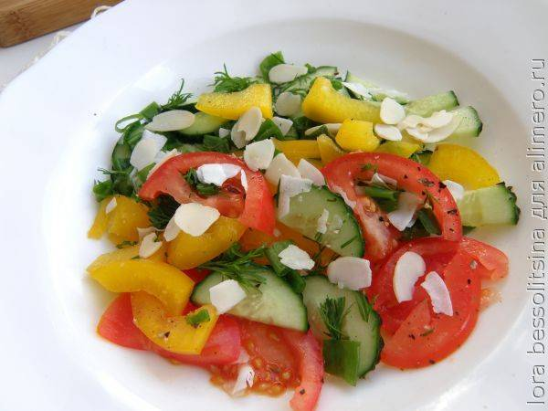 Салат за 5 минут » рецепты - готовим дома | «наобед.kz»
