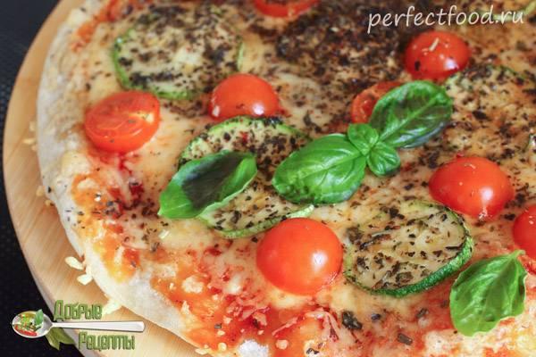 """Запеканка из кабачков """"пицца маргарита"""""""