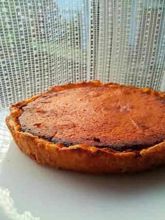 Домашний пирог из тыквы