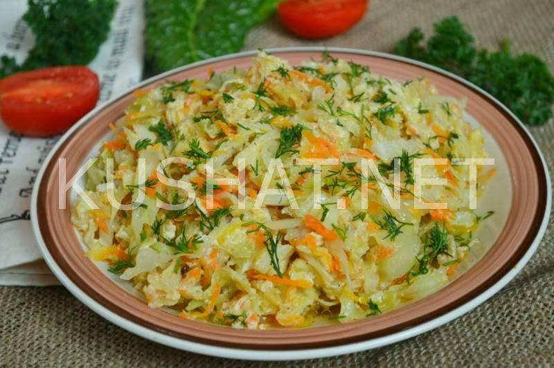 Как приготовить вкусные блюда из кабачков с капустой: рагу, тушеные с картошкой...